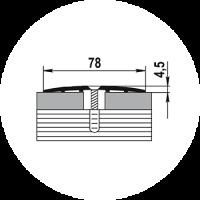 Порог ПС-18 78х4,5 0,9м